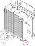 Chladič vodní Komatsu
