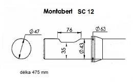 Hrot do kladiva MONTABERT SC 12