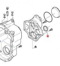 Těsnění převodovky Komatsu - zvětšit obrázek