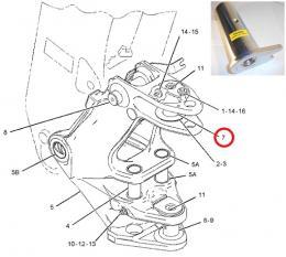 Čep koníku horní s patkou E - zvětšit obrázek
