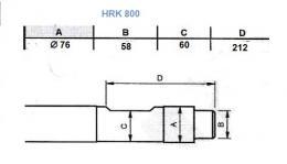 Hrot na kladivo HRK 800