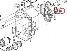Gufero převodovky Volvo - zvětšit obrázek