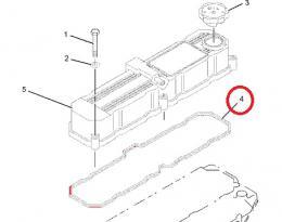Tìsnìní víka ventilù motoru Caterpillar