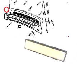 Vzduchová filtraèní vložka kabiny Komatsu