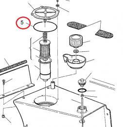 O kroužek olejové nádrže