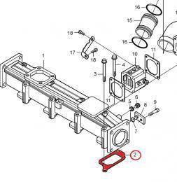 Tìsnìní sání motoru Volvo