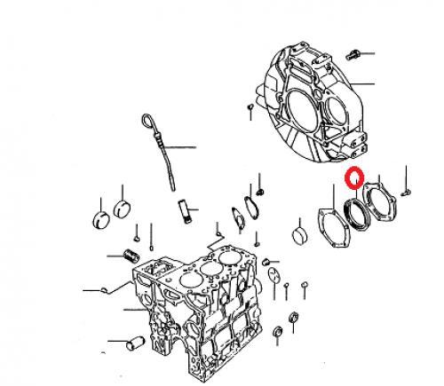 Gufero motoru Mitsubishi