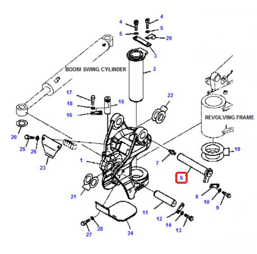 Èep koníku horní Komatsu - zvìtšit obrázek