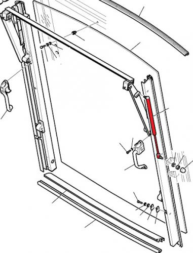 Vzpìra okna Komatsu
